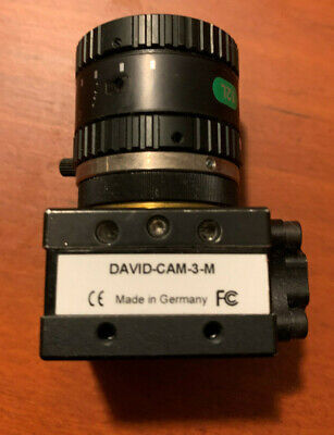 DAVID-CAM-3-M High Res Camera (David Vision Systems) Made in Germany