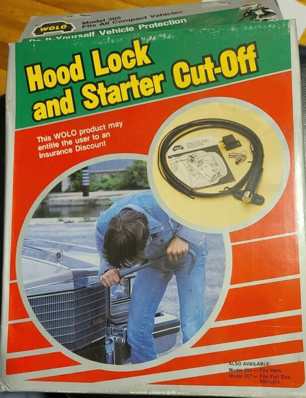 Wolo Hood Lock And Starter Cut-Off Protection