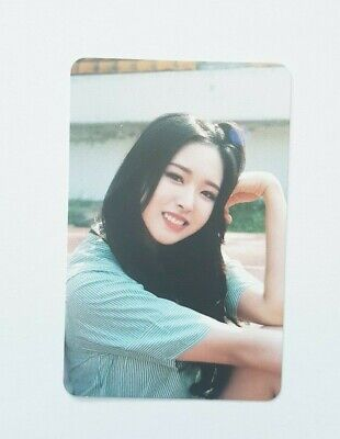 """MONTHLY GIRL LOONA Olivia Hye Limited Photocard - Official Mini Album """"+ +"""""""