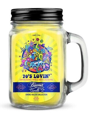 Beamer Smoke Killer Candle 12 oz - Scent: 70's Lovin' - The Best!