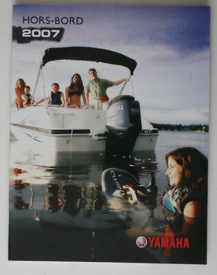 YAMAHA Outboards 2007 dealer brochure - French - Canada - ST2003000418