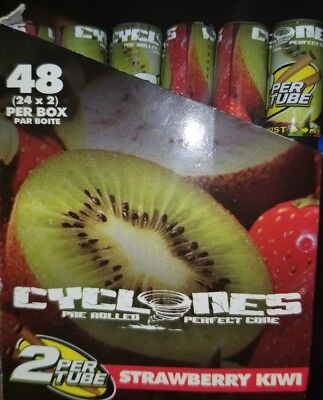 Cyclones Strawberry Kiwi Best Price 24 x2 48 per Box              [ 3 BOXES