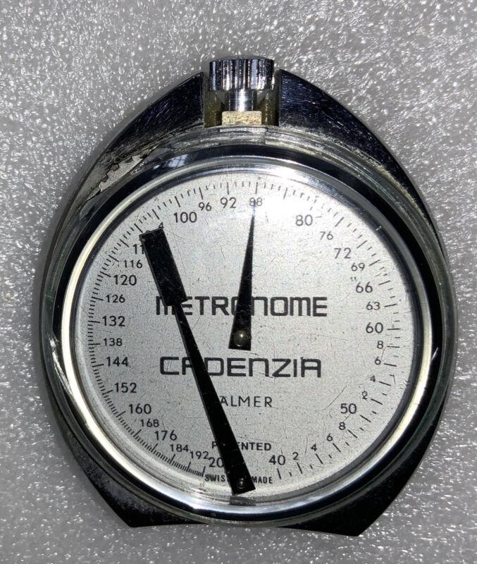 Metronome Cadenzia Palmer Swiss Made Pocket Working