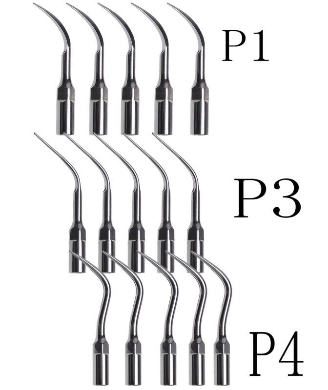 15PC Dental Scaler Tip Perio P1 P3 P4 fit EMS Woodpecker Scaler Handpiece US gIT