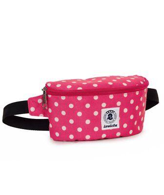 Luck Waist Bag cintura regolabile Marsupio Invicta Nero