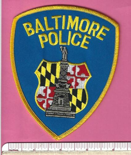 Baltimore MD State of Maryland Law Enforcement LEO Police Shoulder Patch