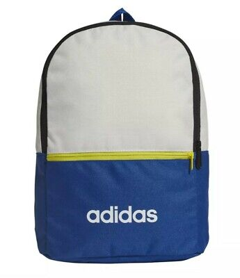 Adidas Classic Backpack Small Blue yellow white FM6751