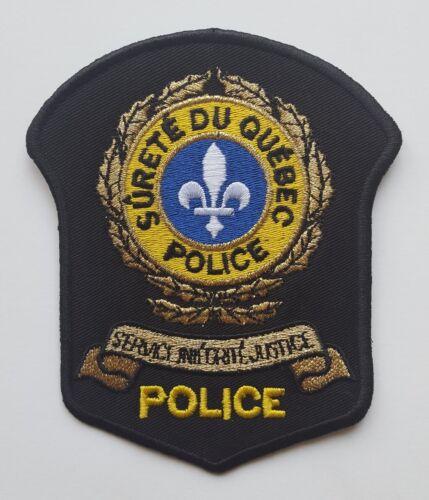 Surete du Quebec Canada Police patch, new condition