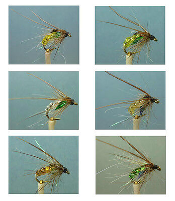 Artflies Bead Body Caddis Pupa Flies, ~ Choose Patterns, Sizes and Qty ~