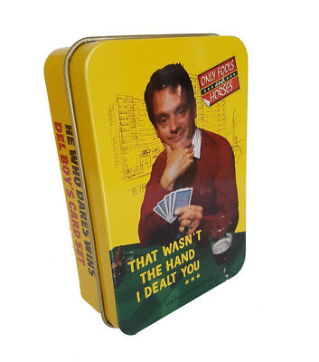 Only Fools and Horses Playing Cards in Tin That Wasn't the Hand I Dealt You