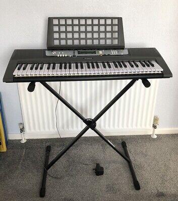 Yamaha EZ200 keyboard and adjustable stand bundle