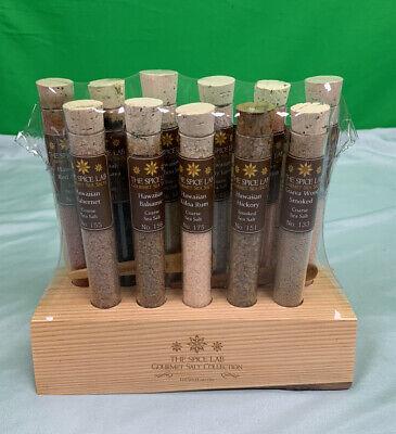 The Spice Lab Gourmet Salt: 11 Tubes Of Hawaiian Salt Sampler Collection Set Gourmet Salt Sampler