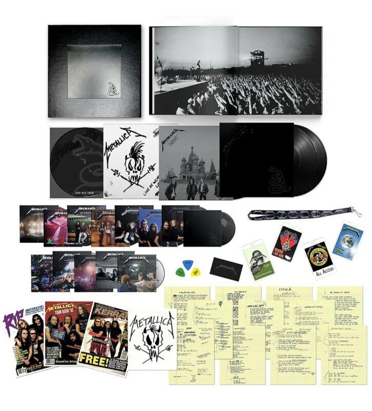 Metallica - Black Album (Remastered) - Deluxe Box Set [3LP/14CD/6DVD]  CONFIRMED