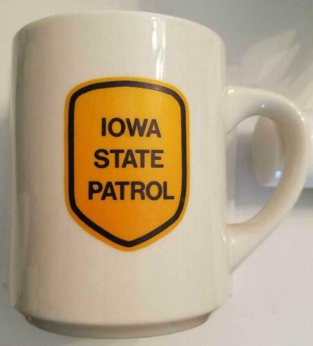 Coffee Cup, IOWA STATE PATROL, Law Enforcement