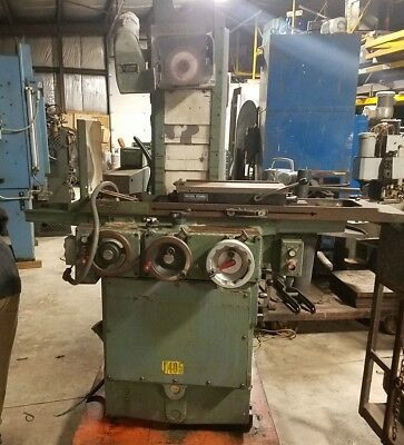 Brown Sharpe 6 X 18 Micromaster Hydraulic Feed Surface Grinder Perm. Chuck