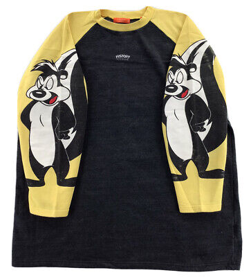 Iceberg History Vintage Pepe Le Pew Sweater Black/Yellow Men's XXXL