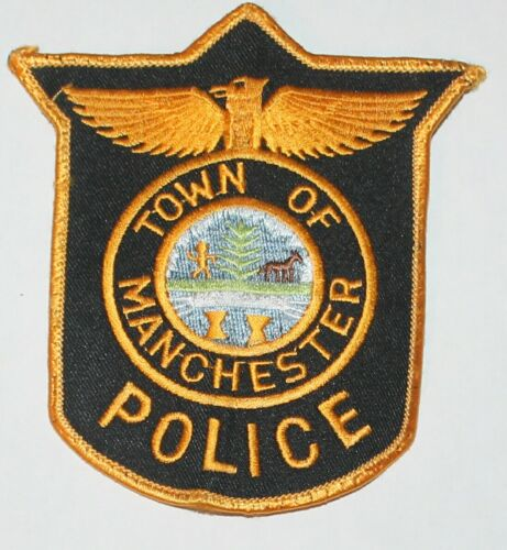 TOWN OF MANCHESTER POLICE Vermont VT PD Used Worn patch