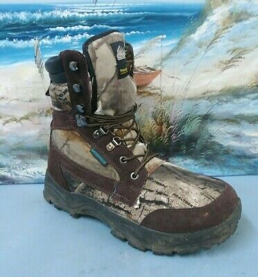 Itasca Nylon Boot (Itasca Hunting Boot Mens Waterproof Leather/Nylon Size 10.5 Brown/Camo Taminator)