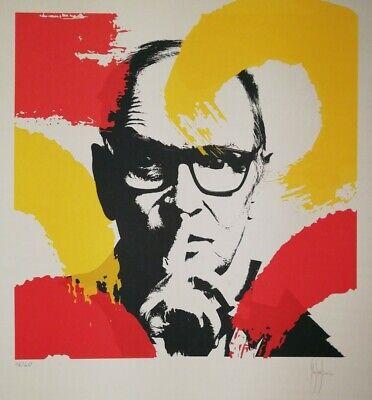 ENNIO MORRICONE, tributo, Grafica numerata e firmata di Stefano Fiore - Pop Art
