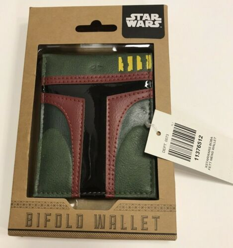 DISNEY BIOWORLD STAR WARS BIFOLD WALLET NEW IN BOX WITH TAGS & FREE SHIPPING!