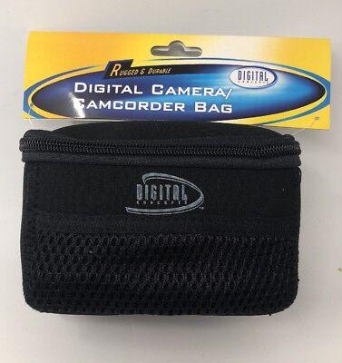 Digital Water Resistant Camcorder - Digital Concepts Digital Camera / Camcorder Bag - Black - L5.5 X W3.5 X H3.5 In