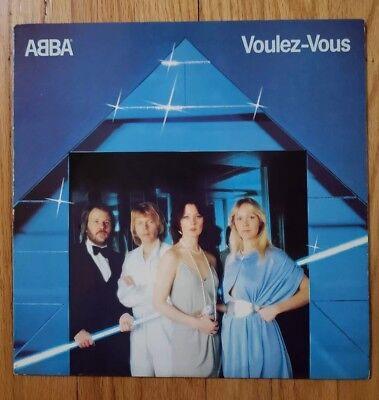 ABBA Voulez-Vous 1979 Atlantic SD 16000 Original Vinyl Record LP NM**