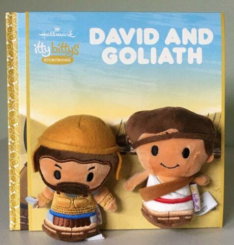 Hallmark Itty Bittys Storybook DAVID AND GOLIATH ~ NWT