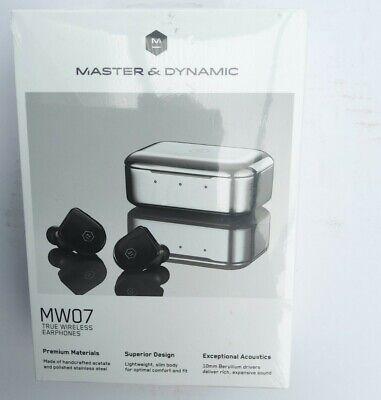 Master and Dynamic MW07 True Wireless Headphones - Piano Black...
