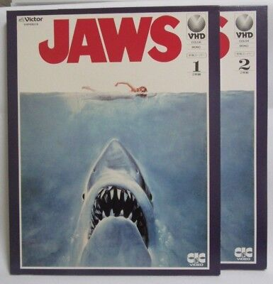 JAWS : Steven Spielberg - Japanese original VHD VIDEO DISC