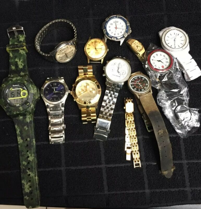 Vintage & New Watch Lot Quartz & Mechanical