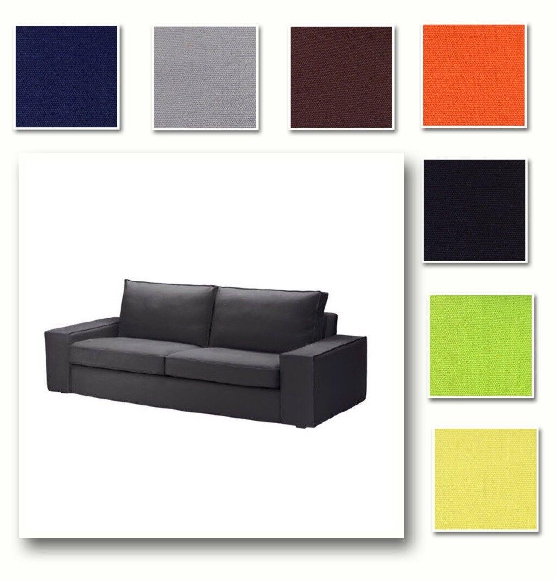 Ikea Kivik Bezug 3er Sofa Isunda Braun 902 751 13