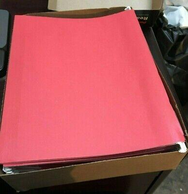 Pendaflex-42623 Readytab Hanging File Folder 8.5 X 11 15 Tab Cut Red 25bx