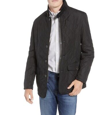 Barbour Lutz Quilted Jacket Coat in Black Size XL MSRP:$269.99