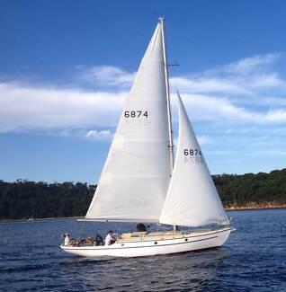 Yacht 1948 Classic Sloop
