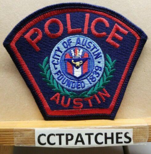 AUSTIN, TEXAS POLICE SHOULDER PATCH TX