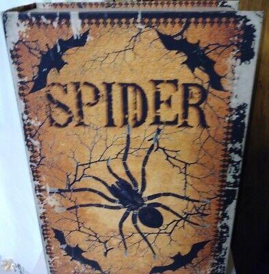 Halloween Hollow Spider Spell Book - Halloween Spider Books
