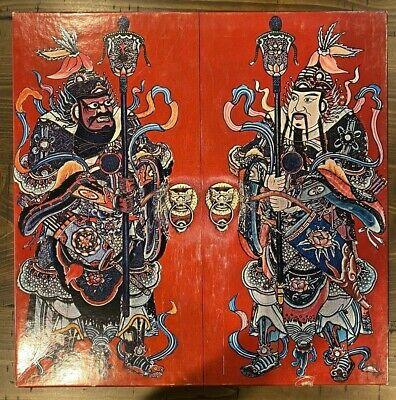 Chinese Door Guardians Jigsaw Puzzle Springbok 1967 500 Pieces Comfucius Temple