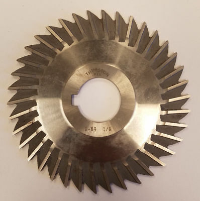 "TTC 2-1//2/"" x 1//8/"" x 7//8/"" HSS Straight Side Tooth Metal Slitting Saw"