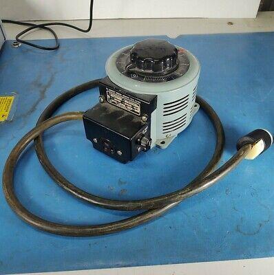 Powerstat 3pn126 Variable Autotransformer 30day Ror