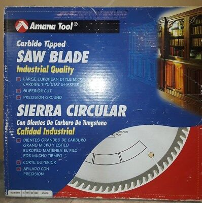 Amana Tool 614841 Carbide Tipped 14 Inch D X 84t Tcg 1 Bore Saw Blade New