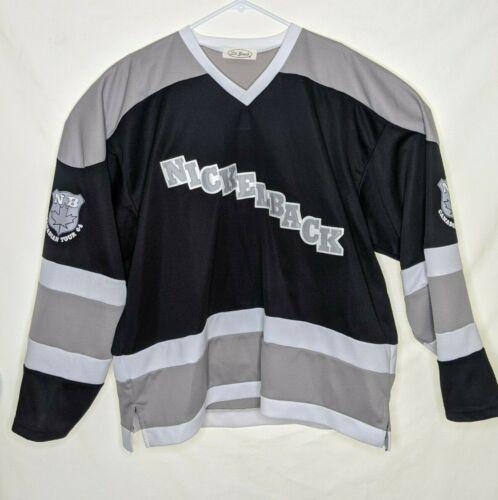 Nickelback 2004 Concert Tour hockey jersey Shirt XL?  See Measurements.