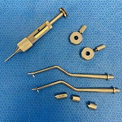 Acufex Arthrex Arthroscopic Acl Instruments 60 Tibial Guides Rl Arthroscopy