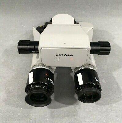 Carl Zeiss Opmi Md Surgical Microscope Binocular F170 10x22b Eye