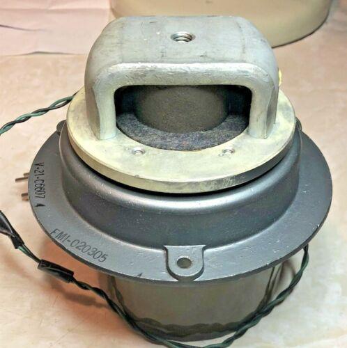 JENSEN V21 speaker/Leslie treble driver 16-ohm w/horn bearing & spacer ring