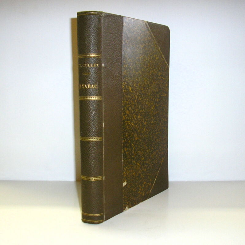 1903 Le Tabac Culture Equatoriales Tobacco Culture Sumatra Indonesia In French
