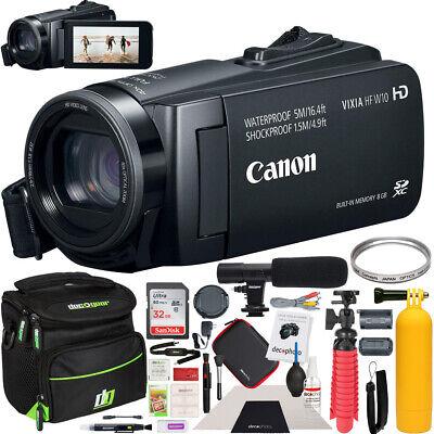 Canon VIXIA HF W10 Camcorder Full HD 1080p Waterproof Video