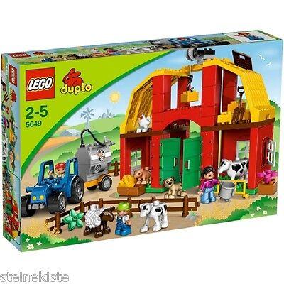 LEGO® Duplo - Großer Bauernhof 5649 Big Farm Animals Tiere NEU & OVP