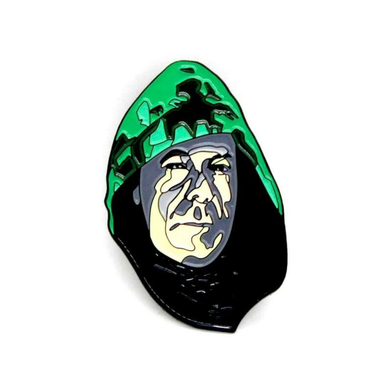 """Zobie Box - Limited Edition 2"""" Enamel Lapel Pin - Glass - The Overseer Variant"""