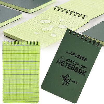 3x5 Waterproof Pocket Notepad Notebook All Weather Stone Paper