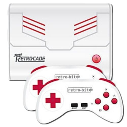 Brand New Retro-Bit Super Retro-Cade Plug and Play 90 Game Console (1.1 version)